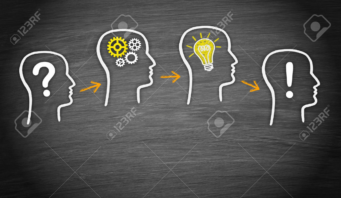 27420377 Problem Analysis Idea Solution Stock Photo